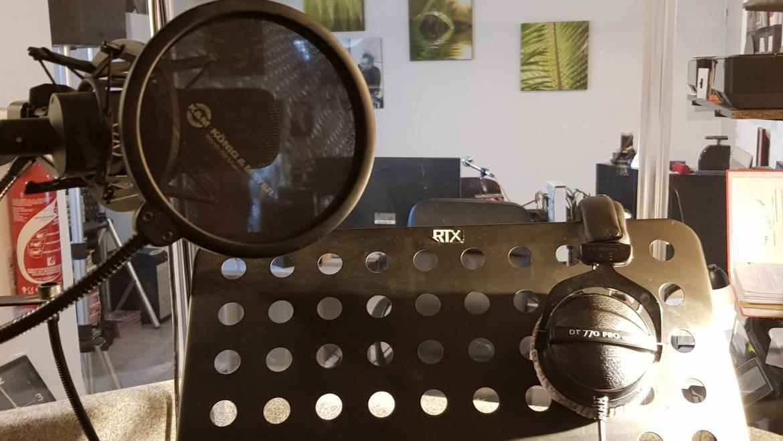 Studio d'enregistrement – St-Raphaël